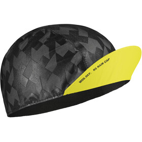 assos Equipe RS Casquette imperméable, fluo yellow